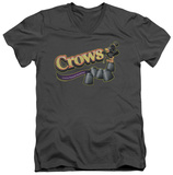 Tootise Roll - Crows V-Neck T-Shirt