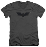 Batman Begins - Logo V-Neck T-shirts
