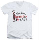 Batman Arkham City - Somebody Loves Me V-Neck T-Shirt