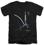 Batman Arkham Asylum - Arkham Batman V-Neck Shirts