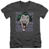 Batman - Dastardly Merriment V-Neck T-Shirt