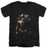 Batman Begins - Gotham Bats V-Neck T-Shirt