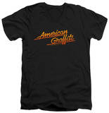 American Grafitti - Neon Logo V-Neck Shirts