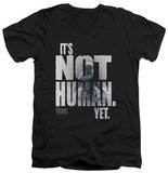 The Thing - Not Human Yet V-Neck Shirt