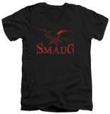 The Hobbit: The Desolation of Smaug - Dragon V-Neck T-Shirt