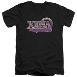 Xena: Warrior Princess - Logo V-Neck T-Shirt