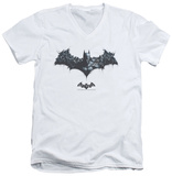 Batman Arkham Origins - Bat Of Enemies V-Neck T-Shirt