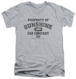 Taxi - Property Of Sunshine Cab V-Neck T-shirts