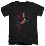 Superman - Super Deco V-Neck T-Shirt