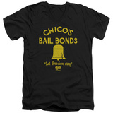 Bad News Bears - Chico's Bail Bonds V-Neck T-Shirt