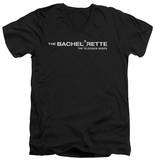 The Bachelorette - Logo V-Neck T-shirts