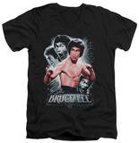 Bruce Lee - Inner Fury V-Neck T-Shirt