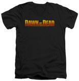 Dawn Of The Dead - Dawn Logo V-Neck T-Shirt
