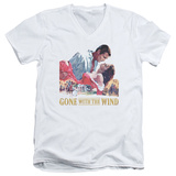 Gone With the Wind - On Fire V-Neck T-Shirt