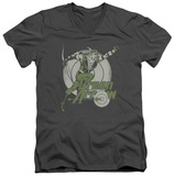 Green Arrow - Right On Target V-Neck T-shirts