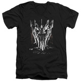 Lord Of The Rings - Big Sauron Head V-Neck T-shirts