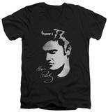 Elvis Presley - Simple Face V-Neck T-shirts