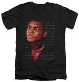 Muhammad Ali - Champion's Speech V-Neck Shirts