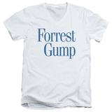 Forrest Gump - Logo V-Neck T-Shirt