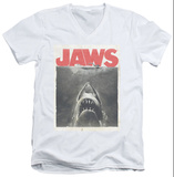 Jaws - Classic Fear V-Neck T-shirts