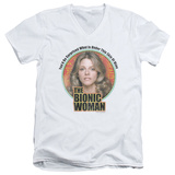 Bionic Woman - Under My Skin V-Neck T-shirts