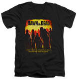 Dawn Of The Dead - Title V-Neck T-shirts