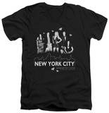 Gossip Girl - NYC V-Neck T-shirts