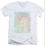 Dragon's Lair - Poster Pencils V-Neck T-Shirt