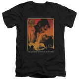 Gone With The Wind - Greatest Romance V-Neck T-shirts