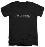 Frasier - I'm Listening V-Neck Shirts