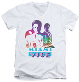 Miami Vice - Crockett And Tubbs V-Neck Shirt