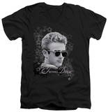 James Dean - Movie Star V-Neck T-Shirt