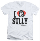 Dr. Quinn Medicine Woman - I Heart Sully V-Neck T-shirts