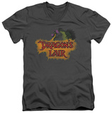 Dragon's Lair - Dragon Logo V-Neck T-Shirt