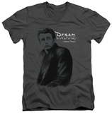 James Dean - Trench V-Neck T-Shirt