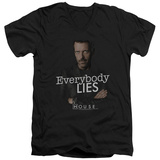 House - Everybody Lies V-Neck T-Shirt