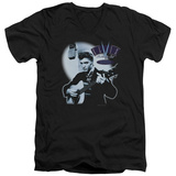Elvis Presley - Hillbilly Cat V-Neck T-shirts