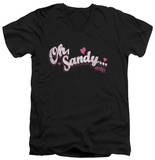 Grease - Oh Sandy V-Neck V-Necks