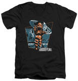 Forbidden Planet - Robby Walks V-Neck T-shirts