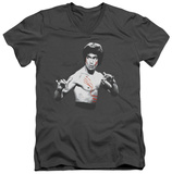 Bruce Lee - Final Confrontation V-Neck T-shirts