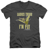 Land Before Time - I'm Fly V-Neck Shirts