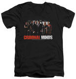 Criminal Minds - The Brain Trust V-Neck T-shirts