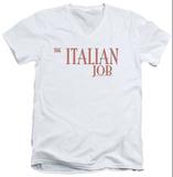 Italian Job - Logo V-Neck T-shirts