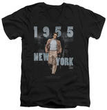James Dean - New York 1955 V-Neck T-shirts