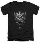 King Kong - Up Close V-Neck T-Shirt