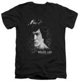 Bruce Lee - In Your Face V-Neck T-shirts
