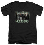 Numb3Rs - Numbers Cast V-Neck T-shirts
