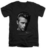 James Dean - Portrait V-Neck T-shirts