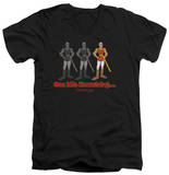 Dragon's Lair - One Life Remaining V-Neck Shirt