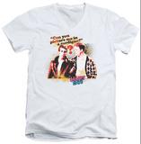 Happy Days - No Cardigans V-Neck Shirt